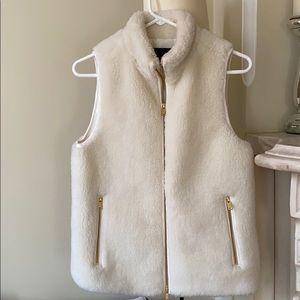 JCrew fleece vest